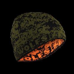 Bild von Mütze DEER grün-orange