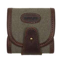 Picture of Leather Rifle Cartridge Holder ELAND green