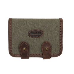Picture of Leather Rifle Cartridge Holder ORYX green